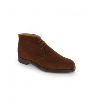 Crockett and Jones Chiltern Boot Snuff Suede