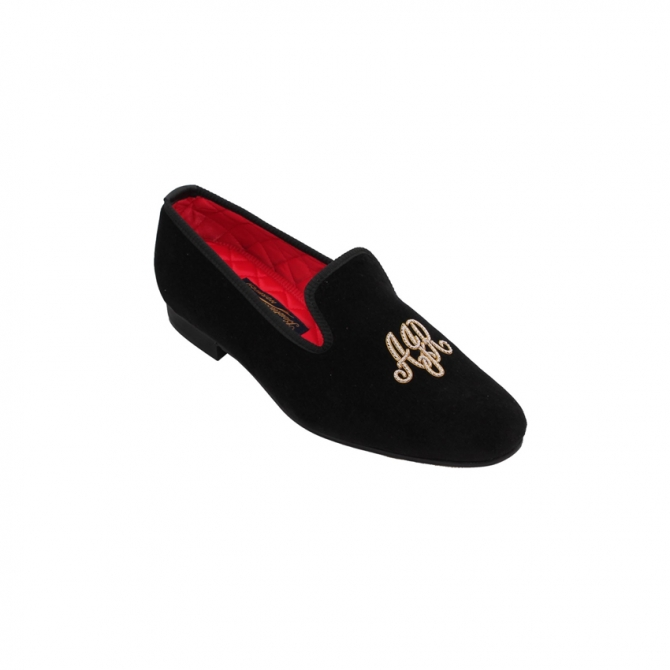 Monogrammed Slippers