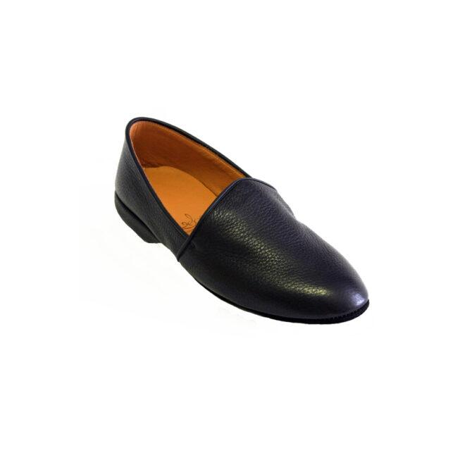 black ladies slipper monk