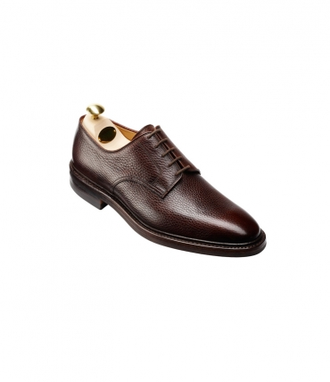 Crockett and Jones Ashdown Brown Grain Leather Derby