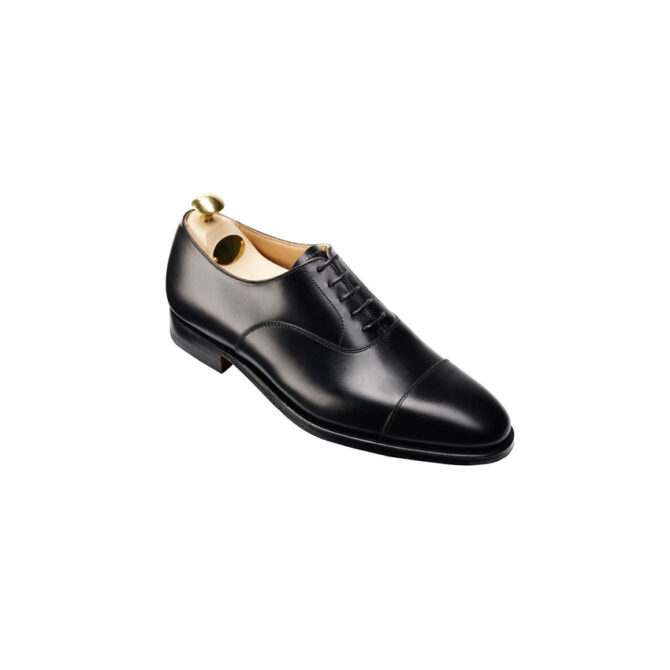 Crockett and Jones Connaught Black Leather Oxford