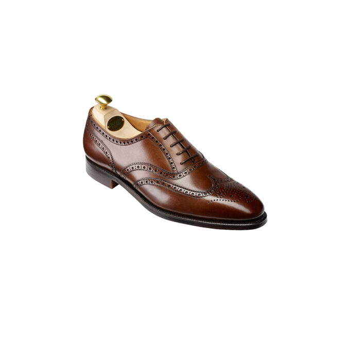 Crockett and Jones Finsbury Chesnut Brown Brogue