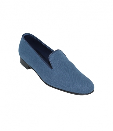 Linen Slippers Albert Plain