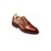 Crockett and Jones Grasmere Tan Scotch Grain Derby