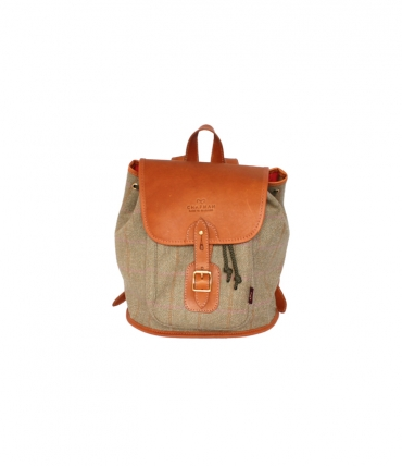 Chapman Bags Ladies Tweed Backpack