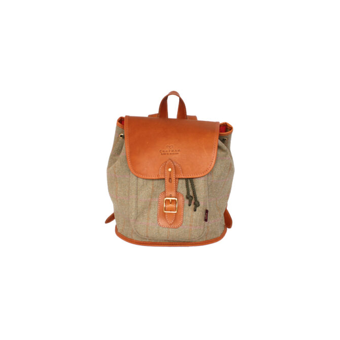Chapman Bags Ladies Tweed Backpack