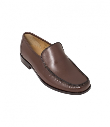 Dark Brown Moccasins by Loake