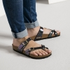 Birkenstock Shiny Snake Black Multicolor Sandals 1005045