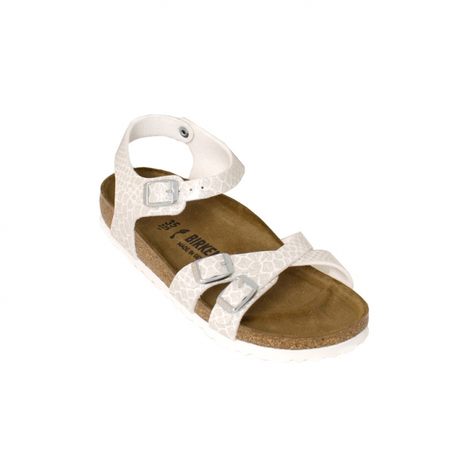 d46c55afbee3 Birkenstock Kumba White Strappy Sandals