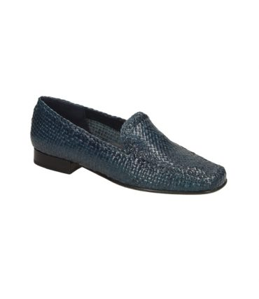 Sioux Cordera Navy Ladies Slip-On Shoes