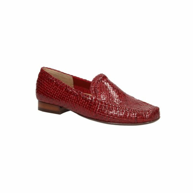 Sioux Cordera Red Ladies Slip-On Shoes