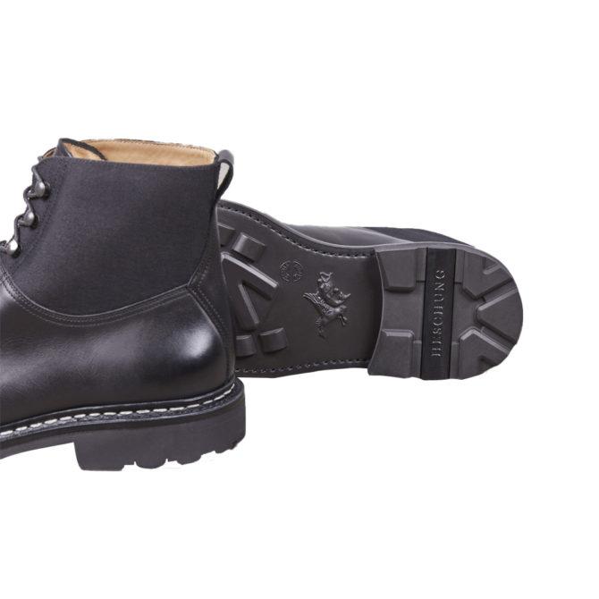 Heschung Ginkgo Black Mens Boots
