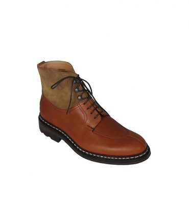 Heschung Gingko Mens Brown Boots Cognac