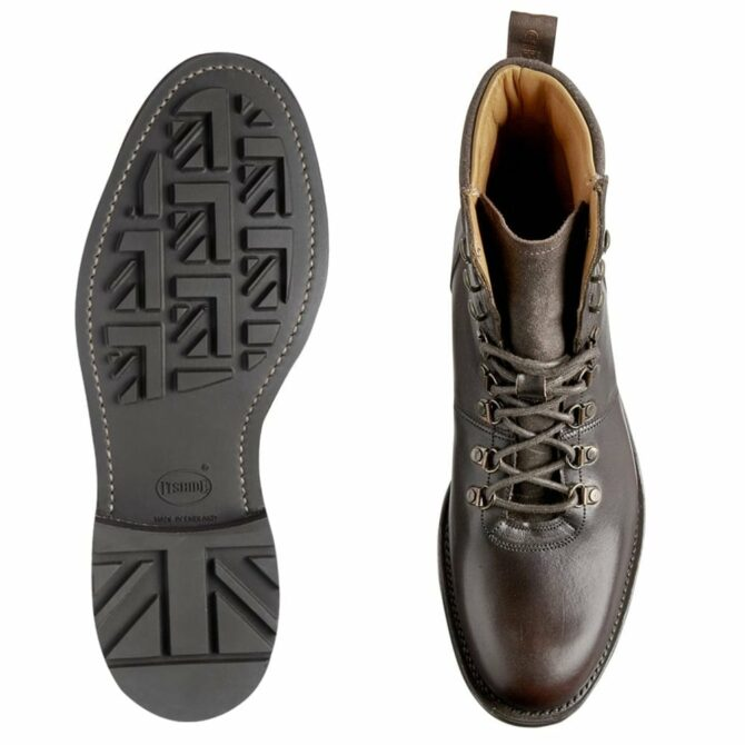 Cheaney Ingleborough B Hiker Boot in Chicago Tan Chromexcel Leather