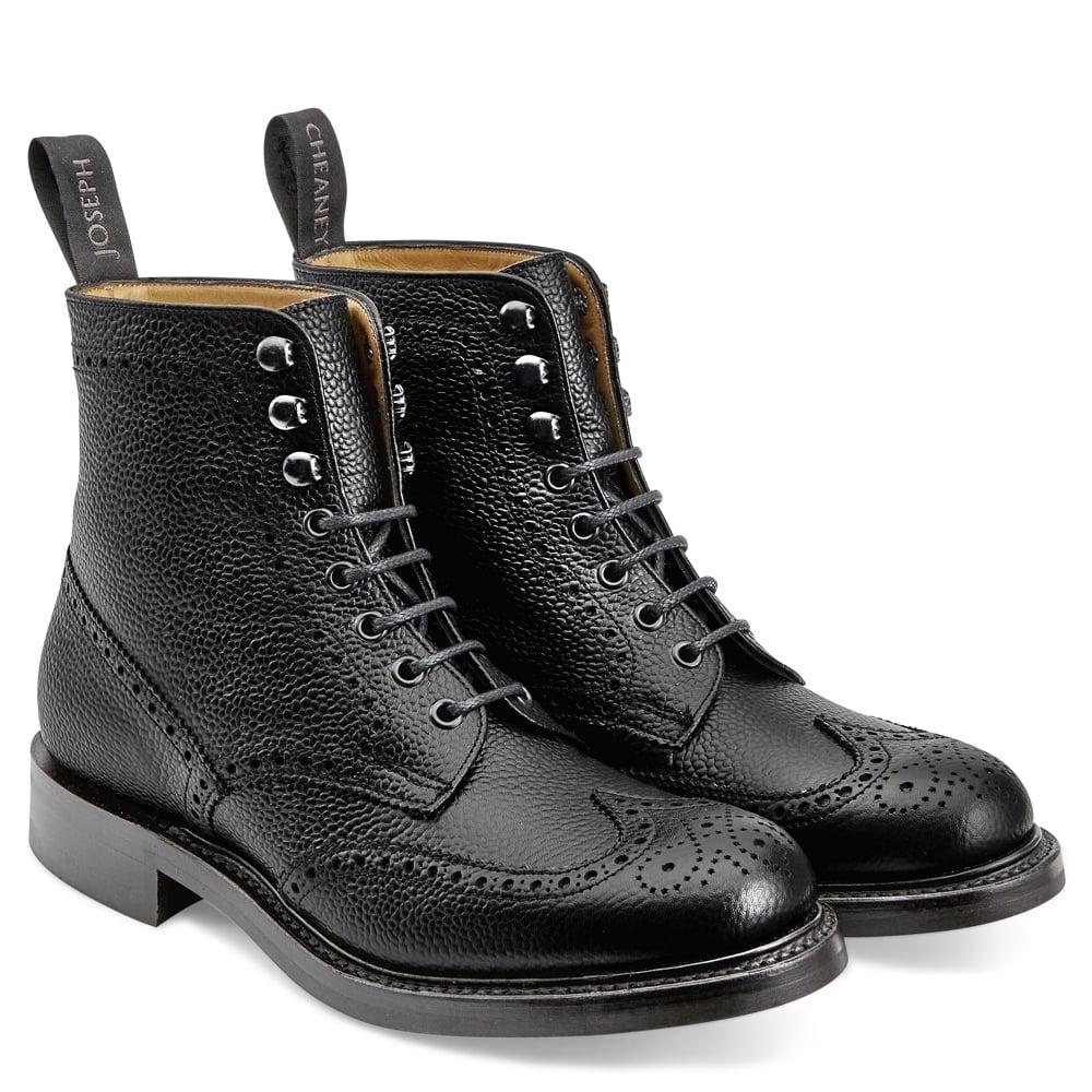 ladies black brogue boots Shop Clothing