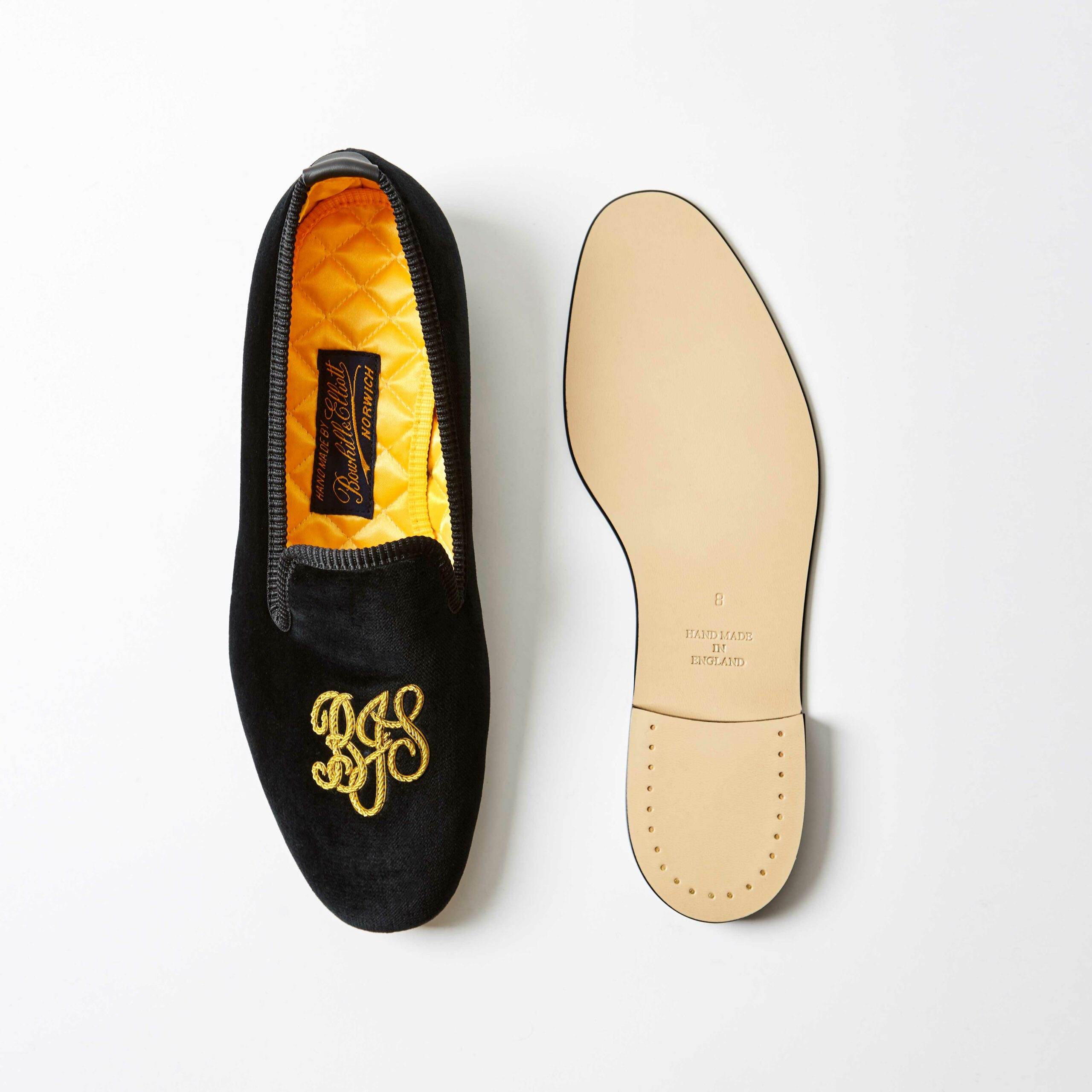Personalised Embroidered Slippers 2