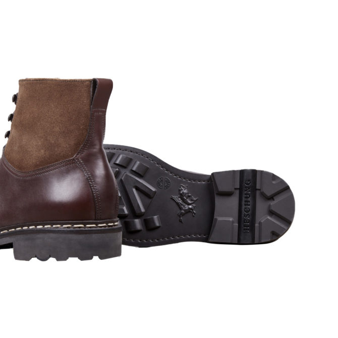 Heschung Ginkgo Mocha Mens Boots