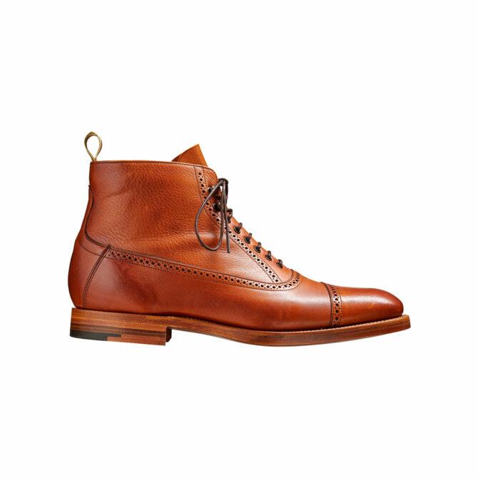 Barker Foley Tan Soft Grain Boot
