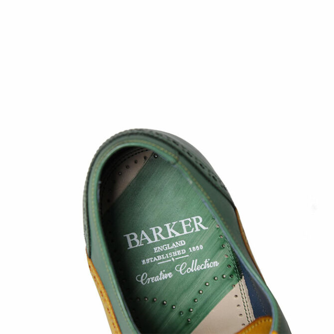 Barker Valiant Hand Painted Yellow and Green