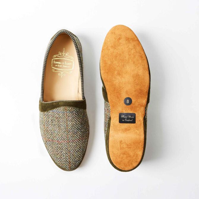 harris tweed slippers 2