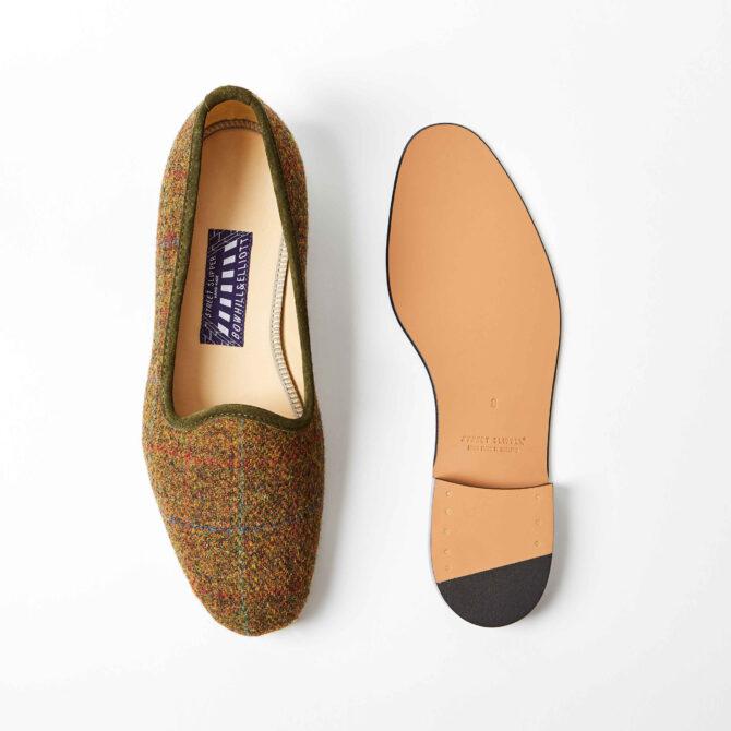 harris tweed shoes