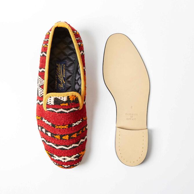 Red Berber Carpet Albert Slippers