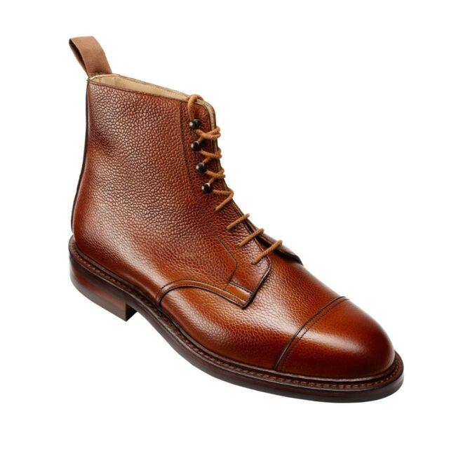 Crockett & Jones Coniston Tan Scotch Grain Boot