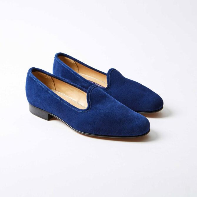 Pacific Suede Venetian Slippers