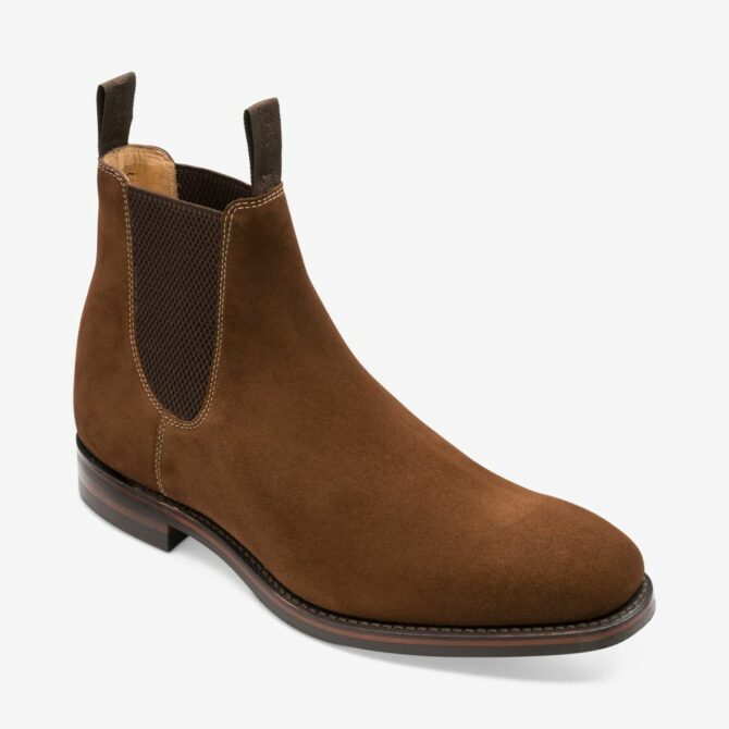 Loake 1880 Chatsworth Brown Suede Boot