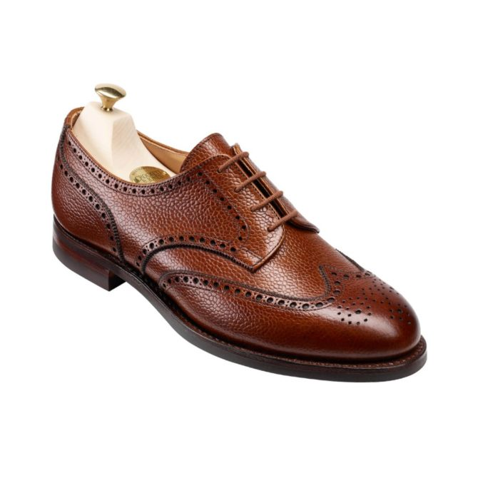 Crockett and Jones Womens Hattie Derby Brogue Shoe