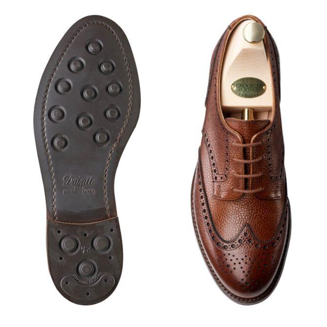 Crockett and Jones Womens Hattie Derby Brogue Shoe