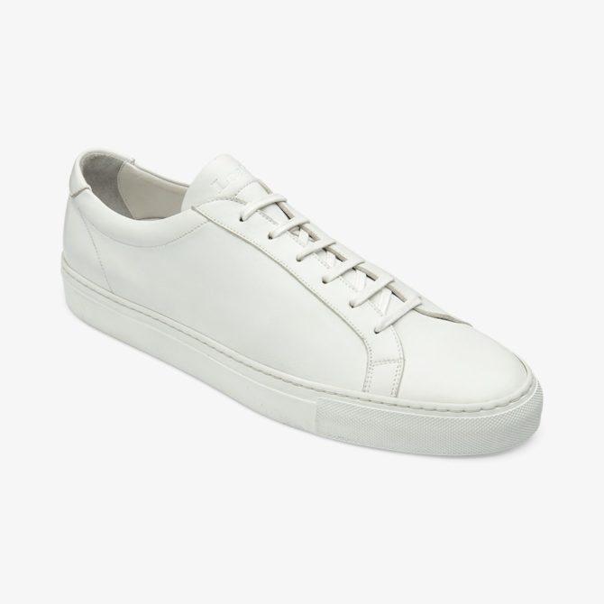 Loake Sprint White Calf Leather Sneaker