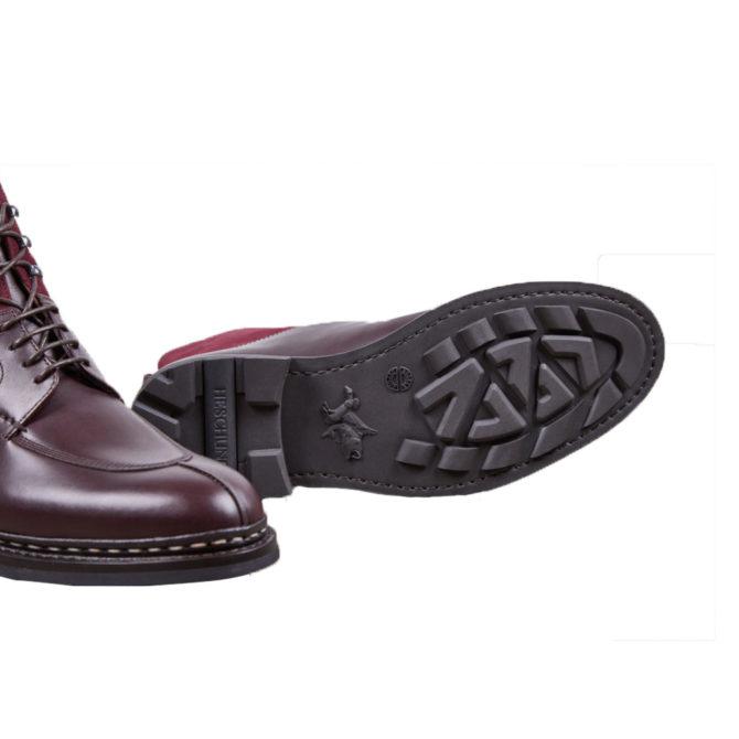 Heschung Ginkgo Burgundy Womens Boots