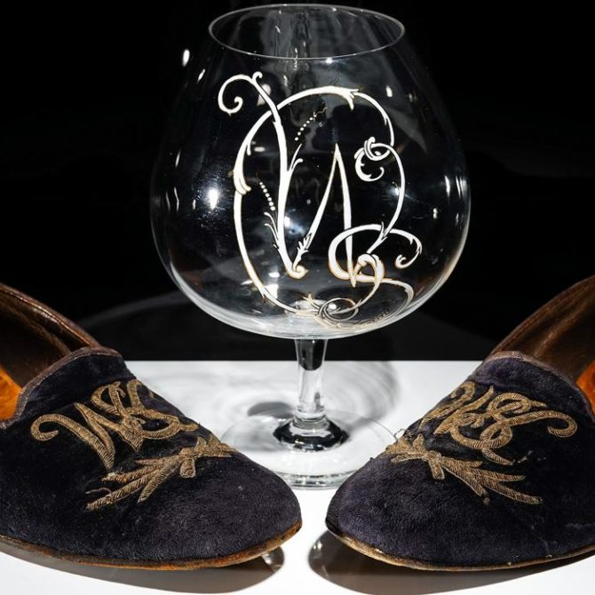 Churchill's Slippers at Auction