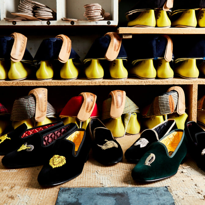 Embroidered Slippers: Introducing Two New Collections